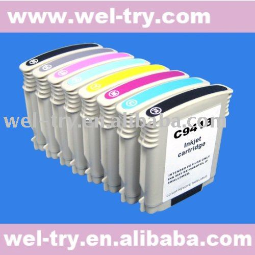 refillable ink cartridge 9412-9419 for HP photosmart pro B9180/B9100/B8850