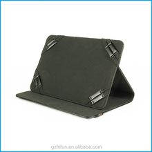 "black 7"" 8"" Commonly used color universal leather case"