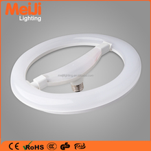 E27 led round ring tube, decoration led circle ring light