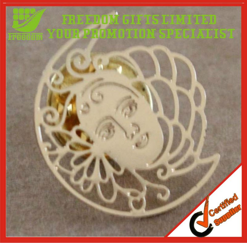 Custom Brass Stamping Enamel Metal Lapel Pin