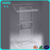 Shenzhen factory supply acrylic lectern,acrylic podium,pulpit,holder, stand,desk,display
