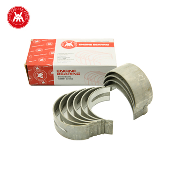 WMM OEM 81558 Diesel Generator Engine Main Bearing Aluminum Agricultural Tractor Main Bearing Supplier 4.248 For MF 168 175