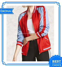 Wholesale Popular Custom Women Baseball New Style Bomber Jacket