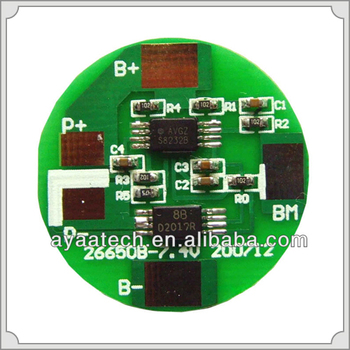 PCM/BMS Specifications For 6.4V LiFePO4 Battery Pack