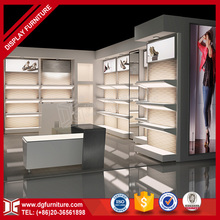 Retail modern interior decoration for shoe shop