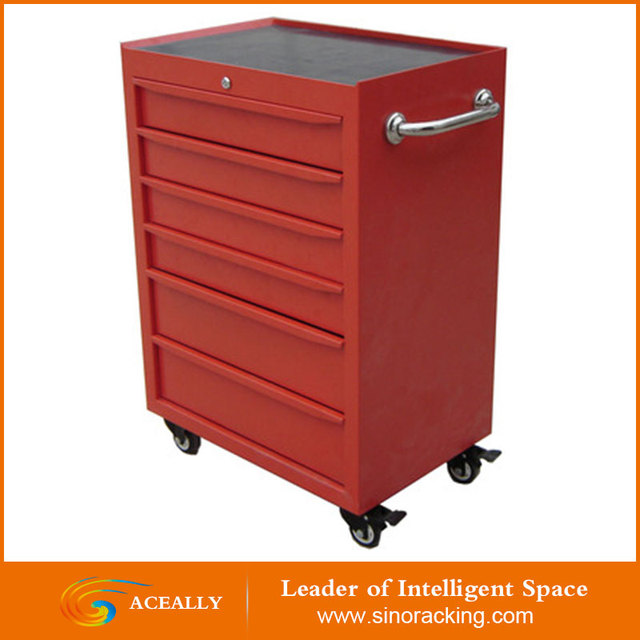 Aceally 5 drawers cheap industrial metal tool storage cabinet