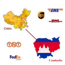 China Freight Forwarder to Cambodia Express Service Cargo Collect
