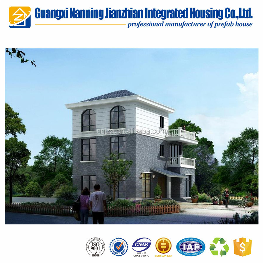 Prefabricated steel building luxury prefab houses prefab home