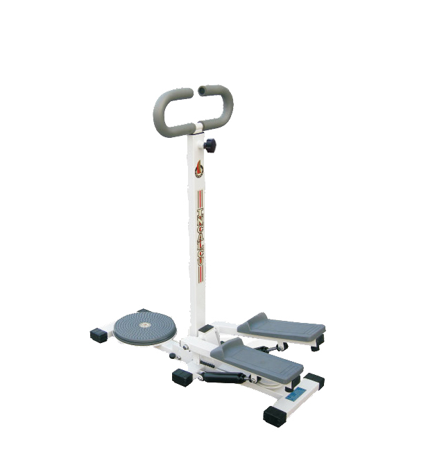 New design Mini Exercise Twist Stepper with Handle bar/ twist stepper fitness equipment for home use