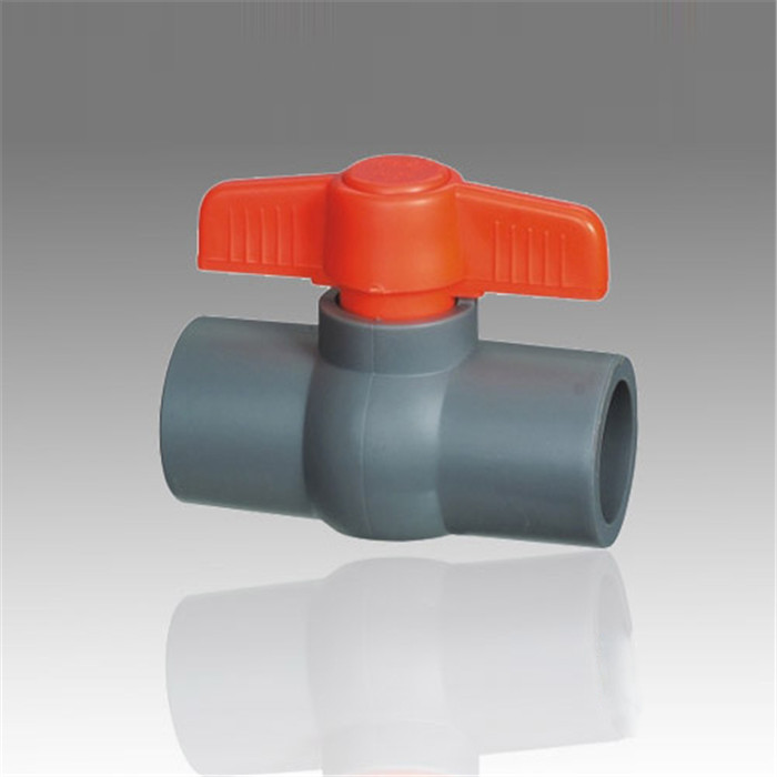 ERA Supplying High Quality PVC Ball Valve,Socket End,Black Grey