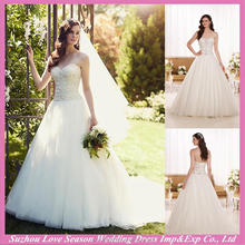 WD9300 Professional supplier for wholesales strapless with veil beaded patterns ruched 2015 long train corsets wedding dress