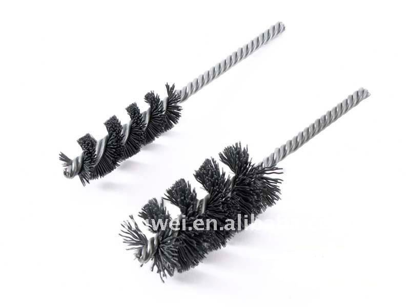 Aluminum Oxide -Silicon Carbine Double Stem/Single Spiral Brushes