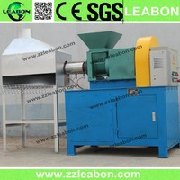 Green energy horse cow manure briquette making machine, sawdust biomass briquette making machine