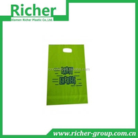 BIODEGRADABLE D2W PLASTIC HANDLE BAG DIE CUT BAG