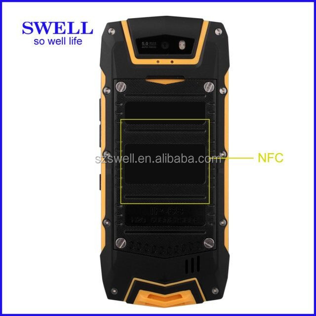 walkie talkie kids IP67 rugged phone, newest waterproof