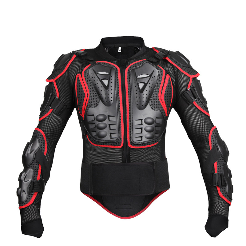 Motocross Jacket Back Protector Body Armour motorcycle jackets of black