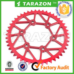 China new CNC motorcycle spare parts disperse sand and mud sprocket