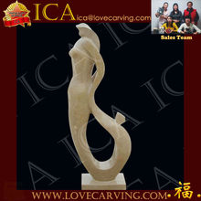 Abstract Mother And Child Sculpture,Marble Avstract outdoor sculpture AS0049