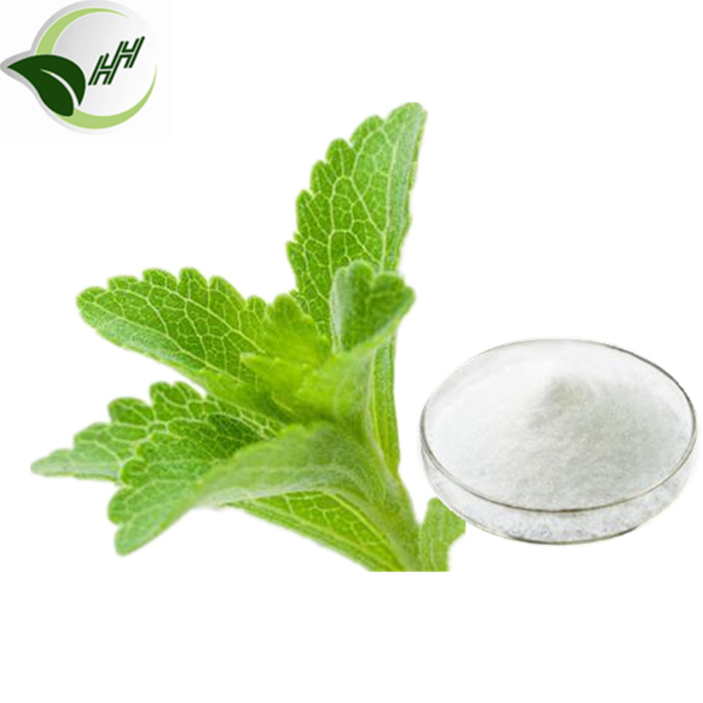 Natural Herbal Sweetener 90%Stevia Glucoside From Stevia Leaf Extract