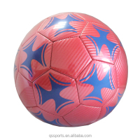 New Laminated Laser Leather Customized Soccer