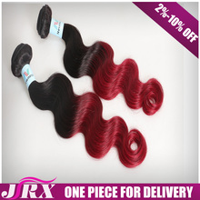 Good Price Burgundy Remy 99J Brazilian Natural Raw Hair
