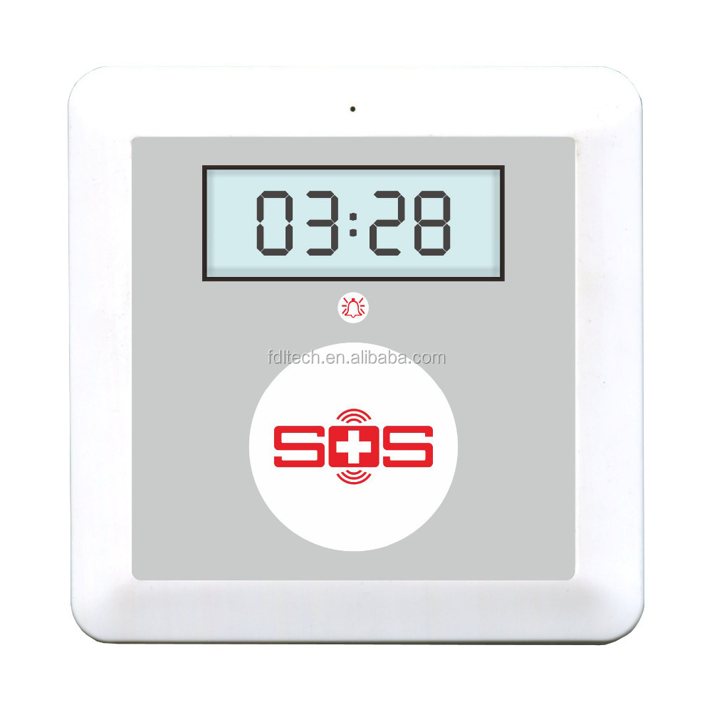 SOS emergency call center device with big SOS button.for care center