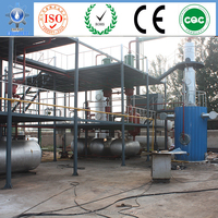 molten salt heating process used engine oil recycling system of distillation base oil