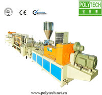 2016 New PVC Roof Tile Extrusion Machine From China Machine Manufacturers,PVC Roof Making Machine