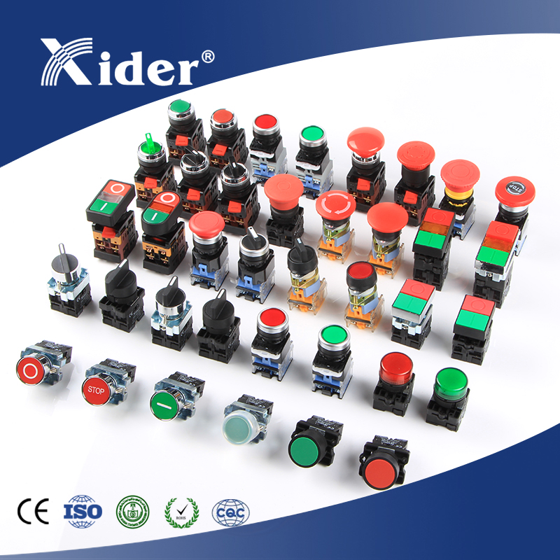 China manufacturer NO NC push button switch with good price