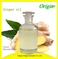 High Quality Pure & Natural Ginger Essential Oil for Hair Growth Sex Massage Oil