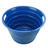 Big silicone bowl for drainer, round washing up bowl and drainer set
