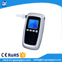 High quality AT8100 portable Digital Breathalyzer driving safe guangqun