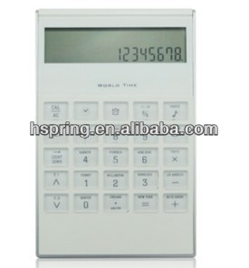 Desk digital calendar clock pocket calculator
