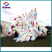 NB-CT20234 NingBang beautiful inflatable parade balloon, giant inflatable fish for advertising