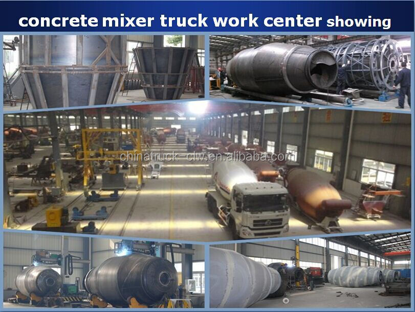 Factory direct supply 3cbm 6cbm 8cbm 9cbm 10cbm12 cbm cement concrete mixer truck for hot sale