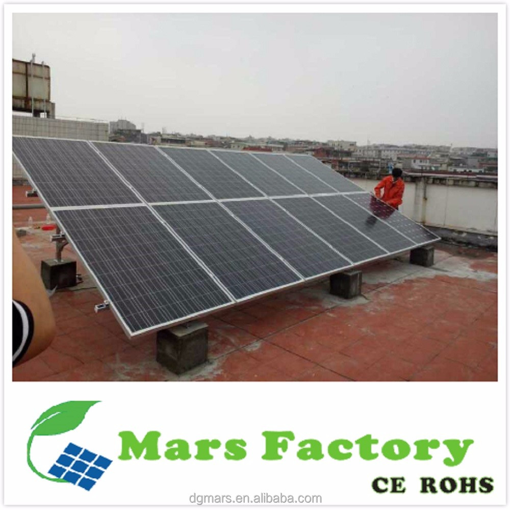 factory sale solar products 500W to 100KW home use solar panel solar power system