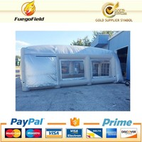 2016 Mobile Automatic Inflatable Spray Booth, Used Paint Portable Spray Booth for Sale