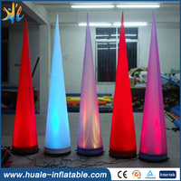 LED inflatable pillar light , inflatable led piallar for wedding