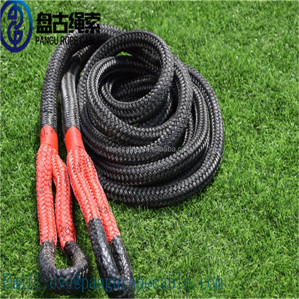 Wear-resisting,cheap,to use the Kinetic Energy Recovery Rope.tow rope for utv atu suv truck 4x4 4wd