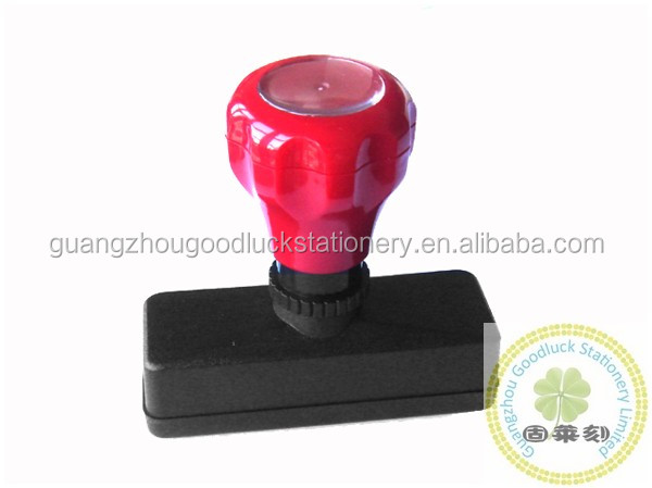 Custom company office flash stamp/office CB flash stamp mount
