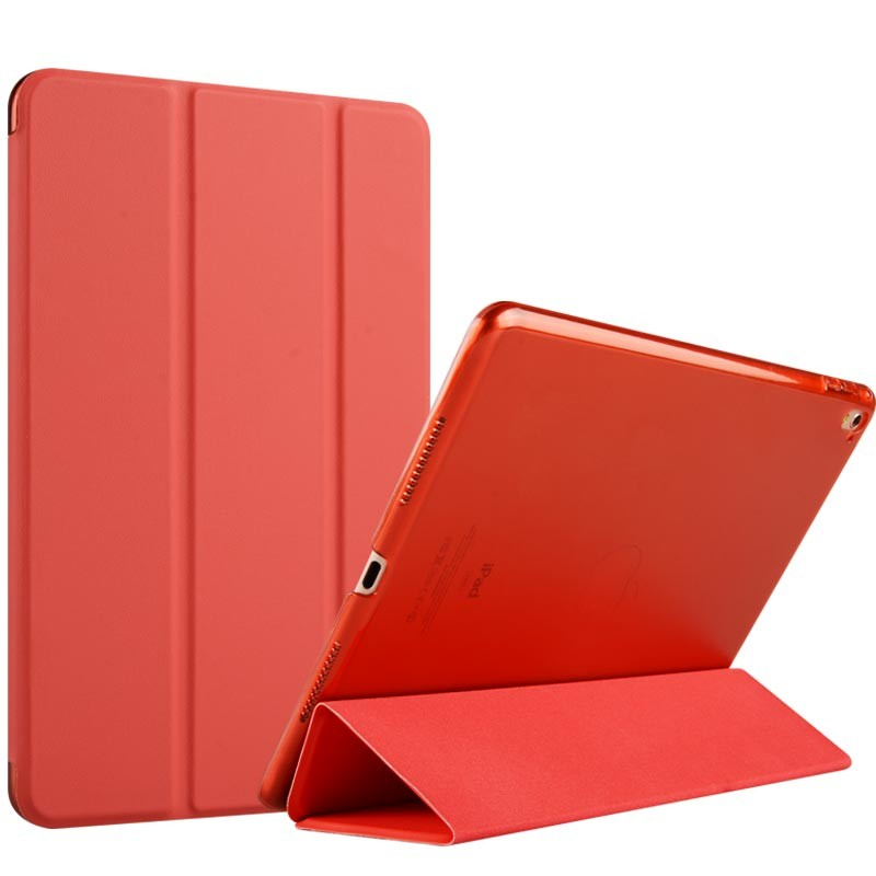 2018Ultra Slim Tri-Fold PU Leather Case with PC Back Smart Stand Case Cover for iPad AIR 2