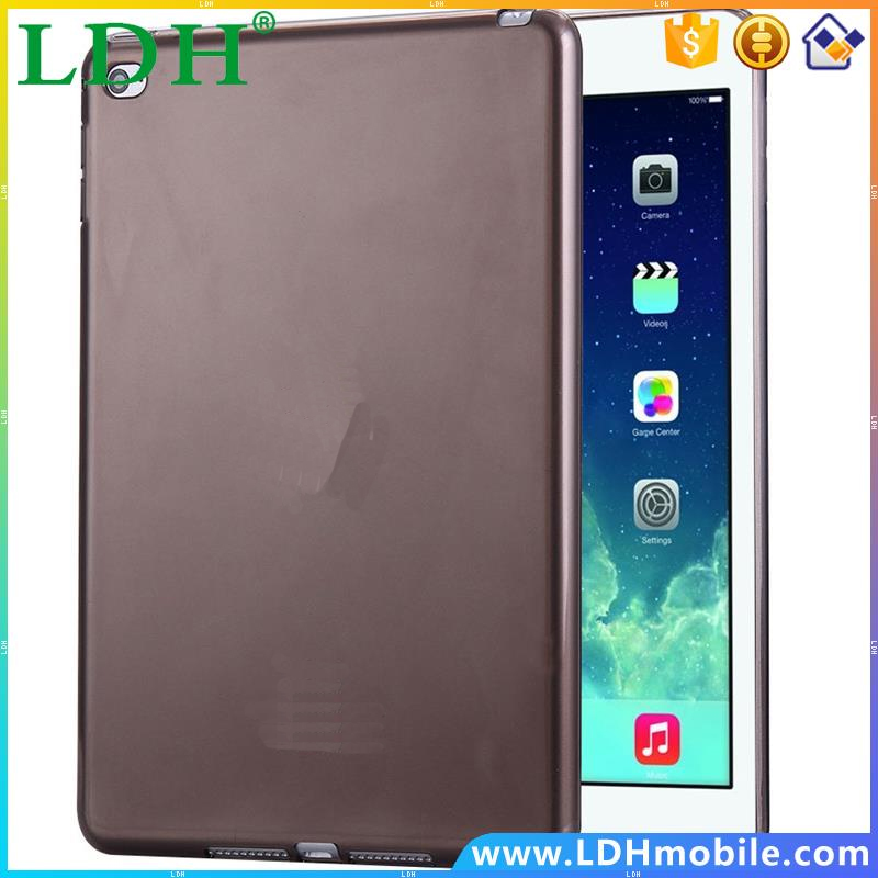 Mini 4 Transparent Clear Crystal Ultra Thin Soft TPU Gel Case For Apple iPad Mini4 Simple Flexible Smooth Tablet Back Cover Bag