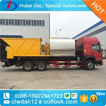 8 M3 Bitumen Tanker Synchronous Chip Sealer,Synchronous Chip Spreader