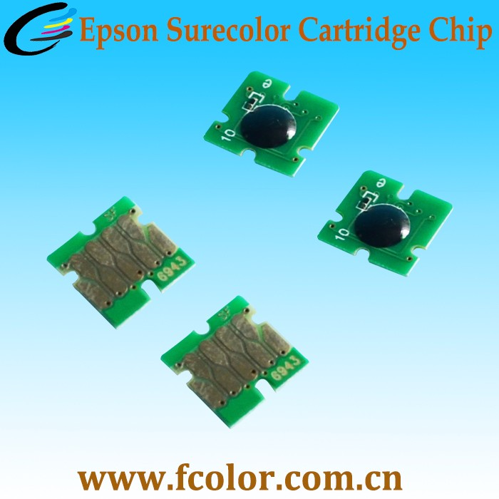 Compatible One Time Chip For Epson F6070 Surecolor F7000 Cartridge Chip