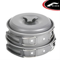 Hard Anodized Outdoor Cookware