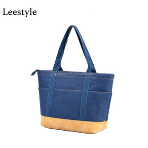 1038d2b46e New Custom Large Canvas Zip Boat Everyday Shopping Handbag Shoulder Tote Bag