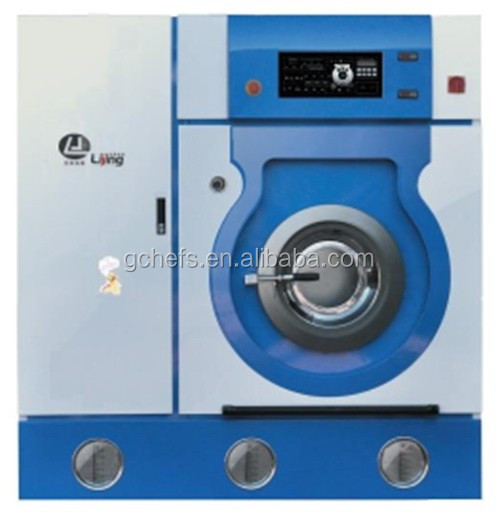 Commercial Totally enclosed fully automatic Hydrocarbon dry cleaning machine (10kgs)