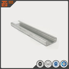 Galvanized punched steel strut channel,steel strut channels/metal channels,galvanized steel c channel accessory