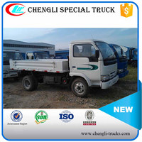 CHINA IVECO 2 ton loading 2.5cbm capacity 6 wheeler 4*2 type right hand drive yuejin mini tipper