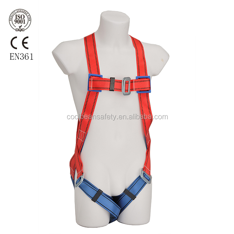 Construction fall protection safety belt full body harness
